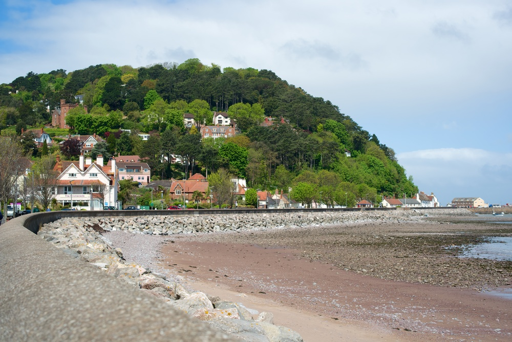 The pretty resort of Minehead is worth a visit, preferably taking the West Somerset Railway from Bishops Lydeard