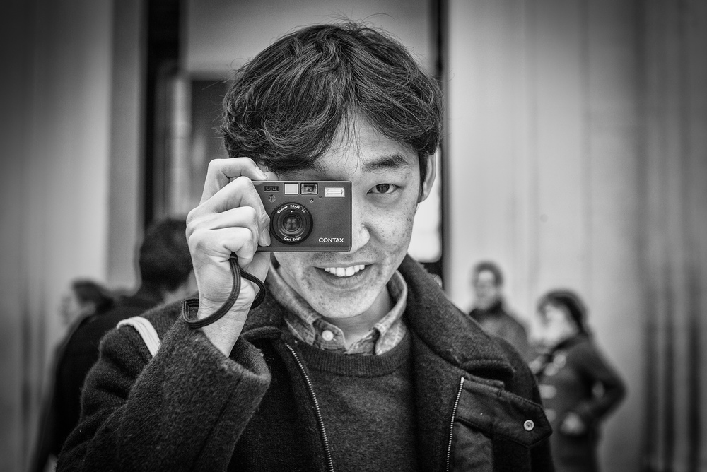 Young people, particularly in Japan and the Far East, are again in love with film. Jo, an architecture and language student from South Korea, is typical of young photographers who swear by film and eschew the convenience of digital. The Contax T3 is an unusual and stimulating choice of camera to boot (photo: Leica M and Noctilux)