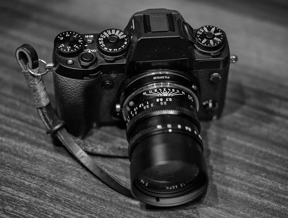 The X-Series Fujis have sold well to Leica fans. Will the X-T1 (shown here with a Leica 50mm Summilux lens), hold its own in the face of competition from Sony?