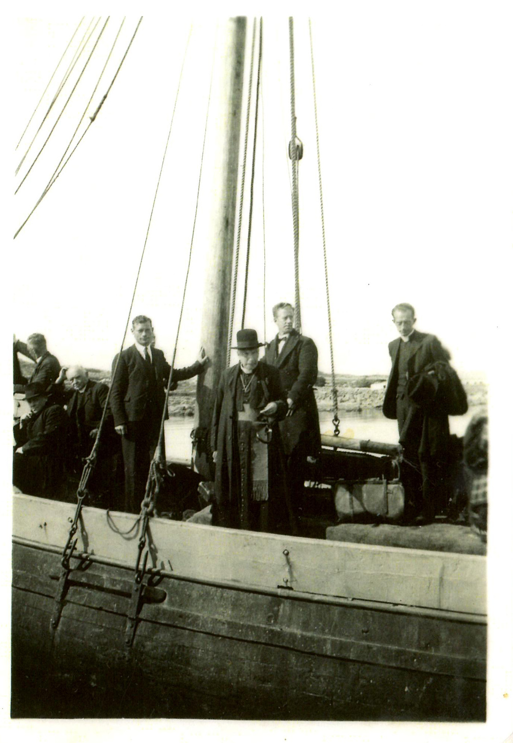 A blessing for the Galway Hooker