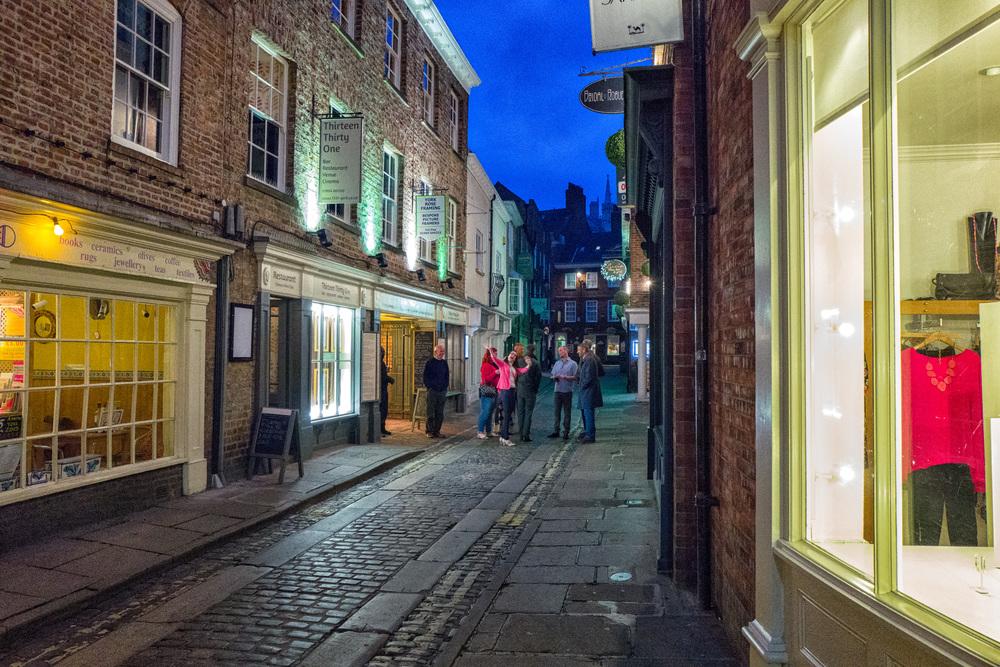 Night scene in York, ISO 6400