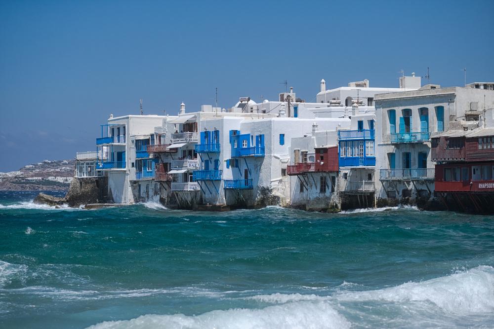Mikri Venetia, Little Venice, in Mykonos: There