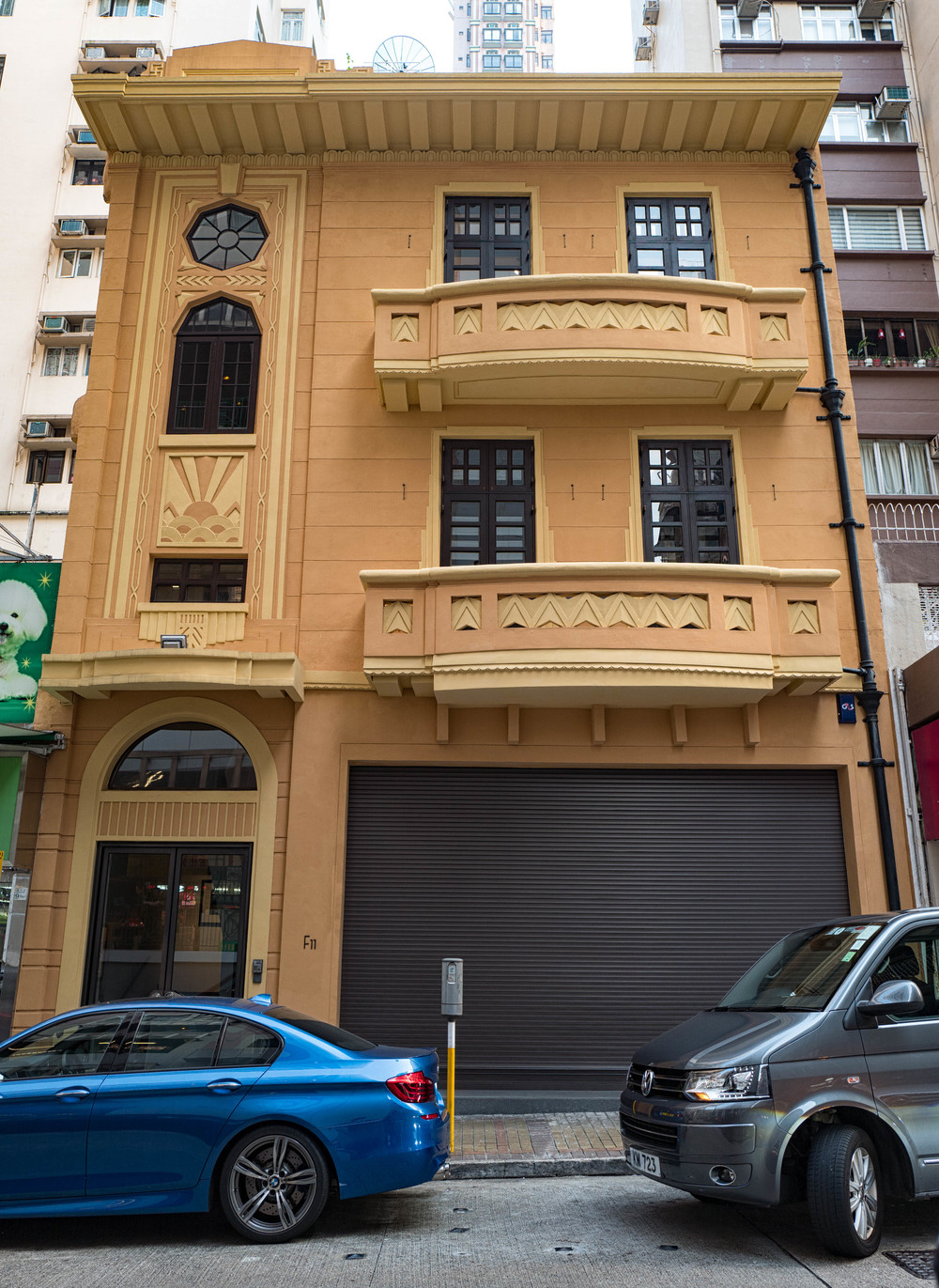 Designed by J.S.Gibson and built in 1934-35, No. 11 Yuk Sau Street has been lovingly restored and now houses the F11 Photographic Museum