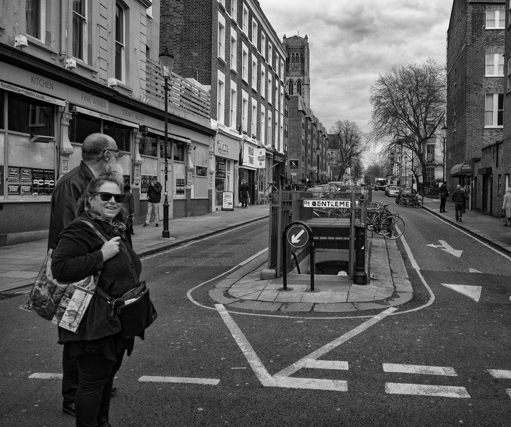Withering Depths:  A rare sight in London these days, even rarer than old Leicas. It