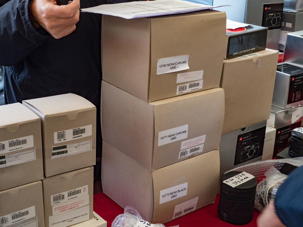 Ex-demonstration cameras and lenses with full Leica warranty available at bargain prices at Photo Gallerie