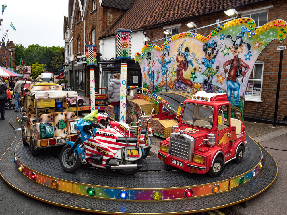 Rides for all in the narrow streets of Pinner