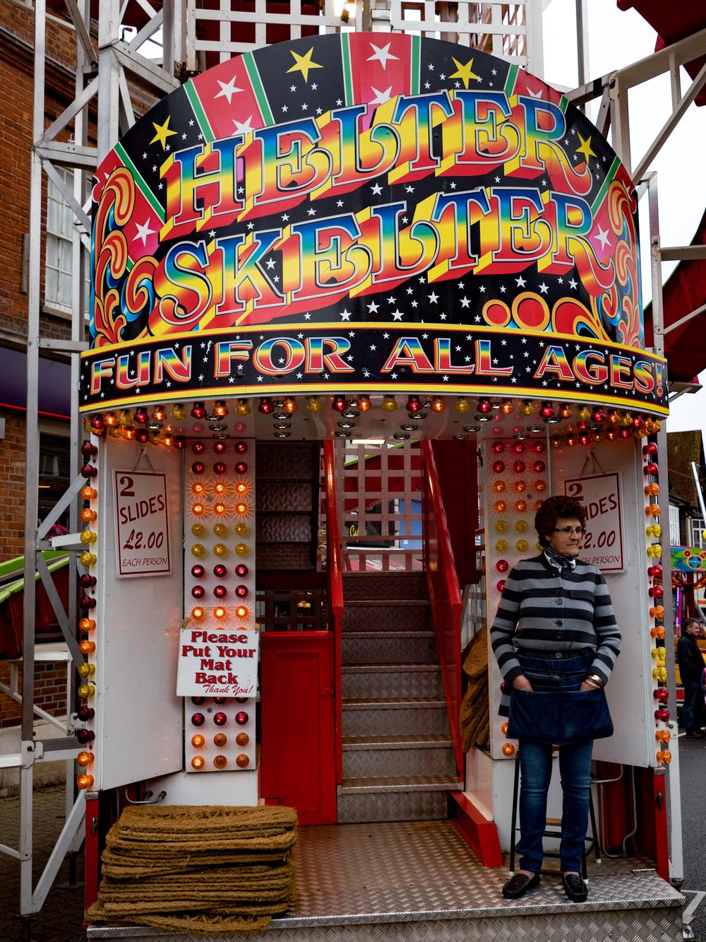 Slides, £2 a go