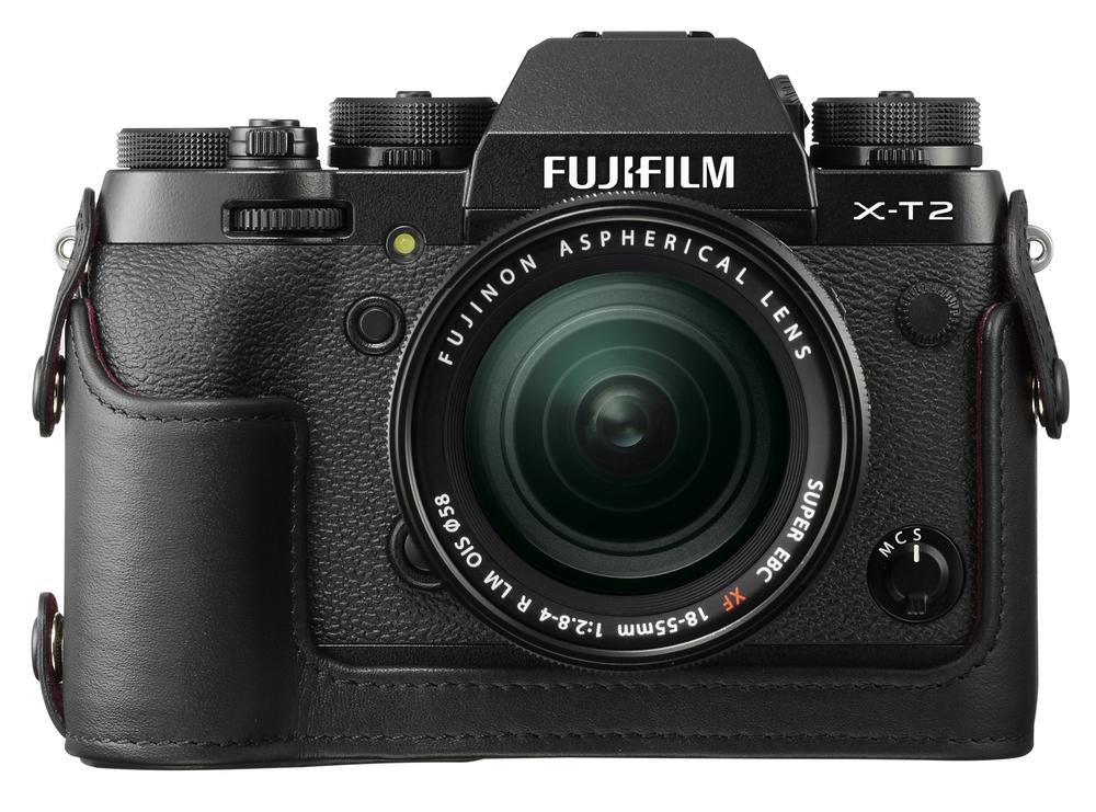 Fuji half case for the X-T2