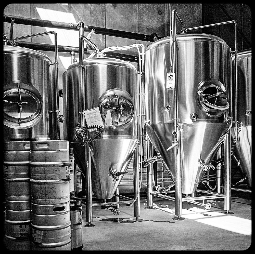 Beer a brewing....