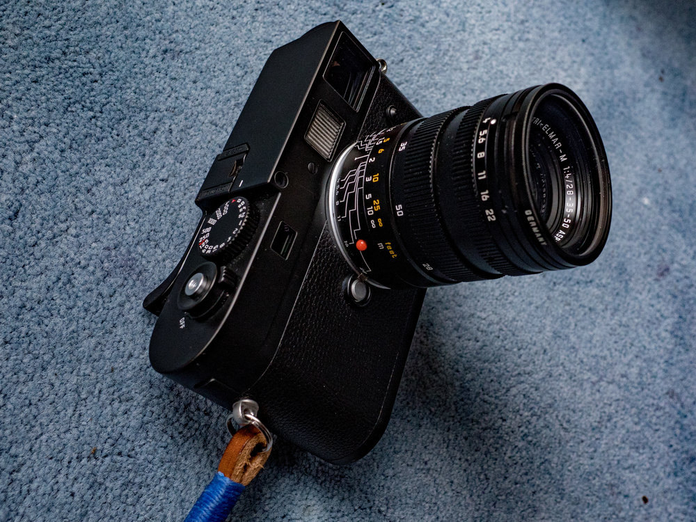 Leica 28-35-50 Tri-Elmar-M getting MATEy with Mike