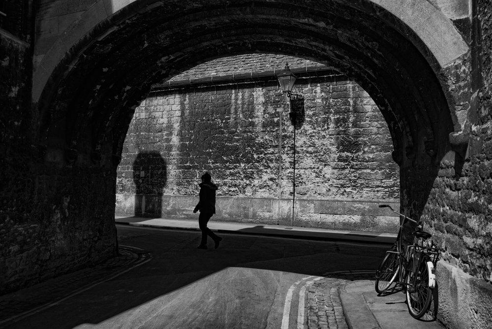 Above and below: Oxford street scene, Tri-Elmar at 35mm, Leica M-D.