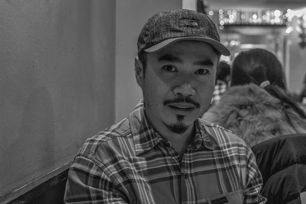 Portraits at 50mm with the Tri-Elmar: Above, My friend Steven Kwan, another keen Leica photographer, taken at ISO 1600 with the Monochrom Mk.I. Below, Steve Beeley, head porter at Queen