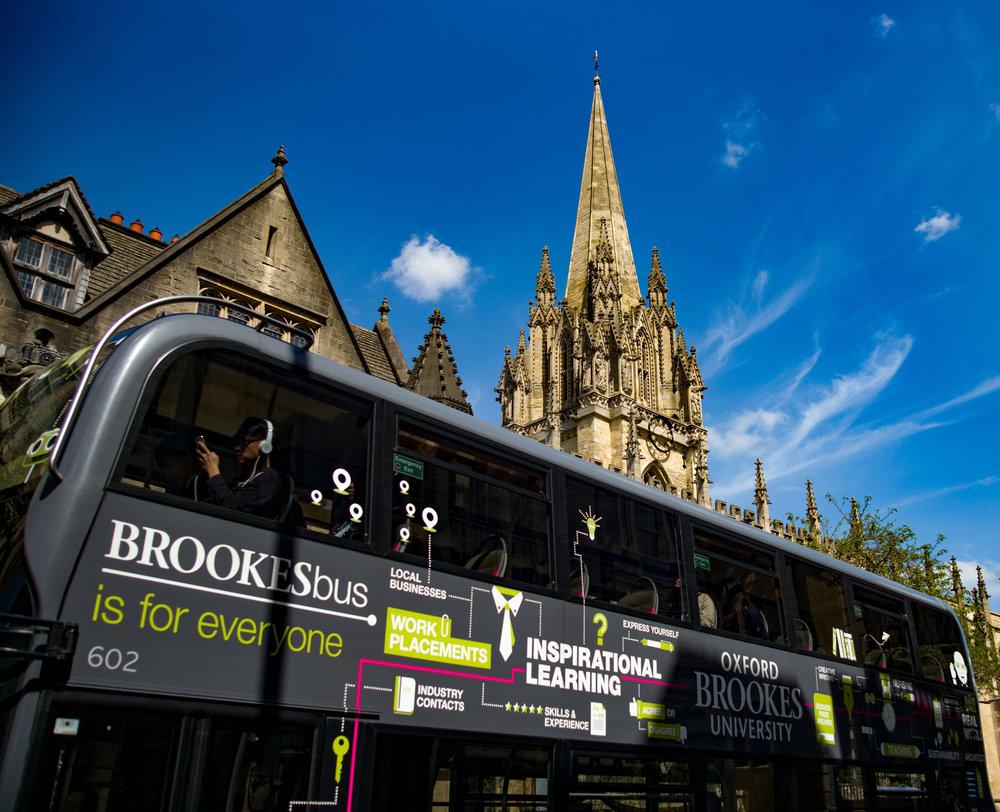 The Brooks bus, Oxford, Tri-Elmar at 28mm, Leica M-D. Inspirational....