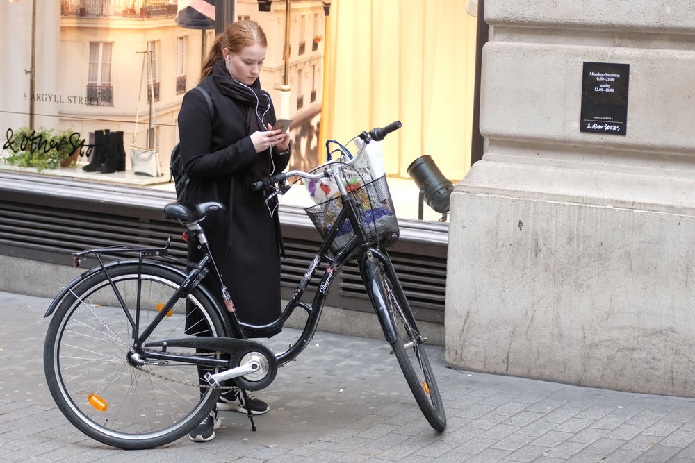 Cycle messager