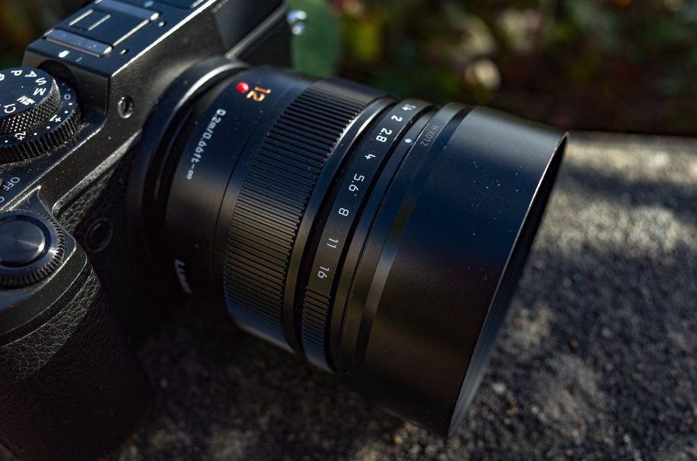 The Panasonic Lumix GX8 would make a super re-branded Leica. There is already a range of Leica DG lenses available for micro four-thirds, including this wonderful 12mm (24mm full-frame equivalent) Summilux. We can dream....