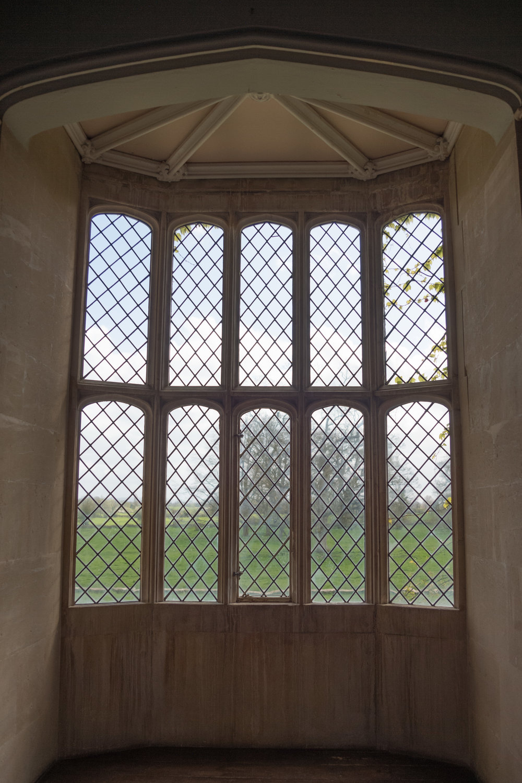 The original lattice window, as seen by Fox Talbot