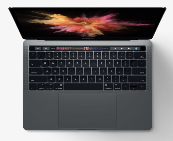 The much more powerful MacBook Pro — here with the optional Touch Bar which adds a lot to the price— is a better bet for intensive processing and costs little more than a specced-up MacBook. But you lose out on ultimate portability. It