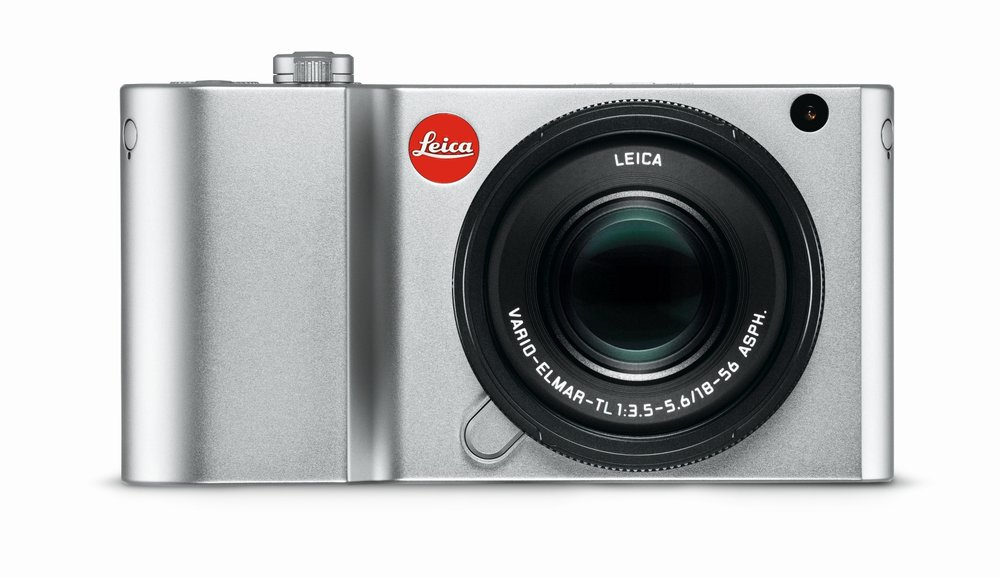 The body comes in either silver or black. Here the camera wears the