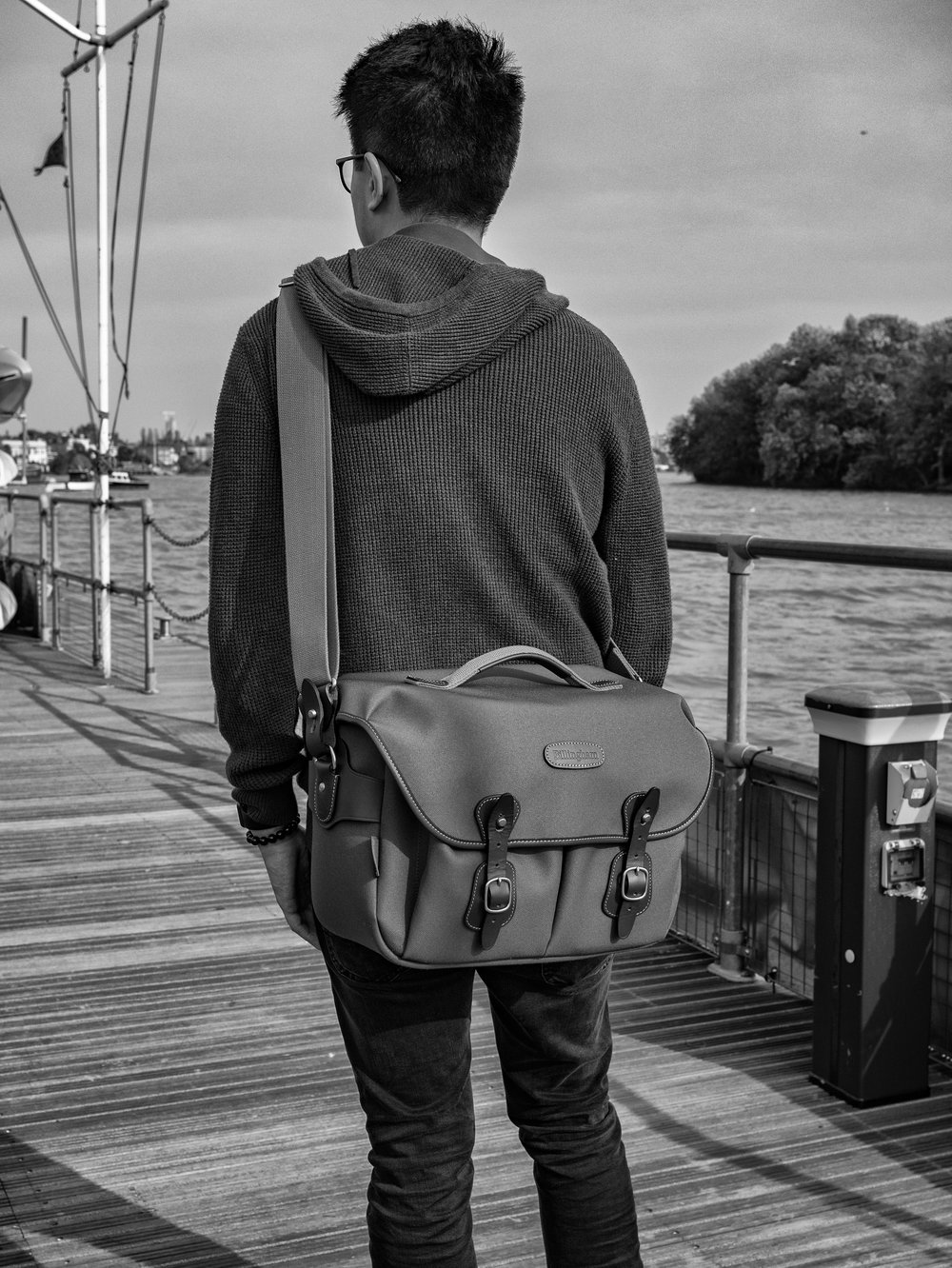 The Hadley One is about as big a system bag I would wish to carry   — but it does its job well