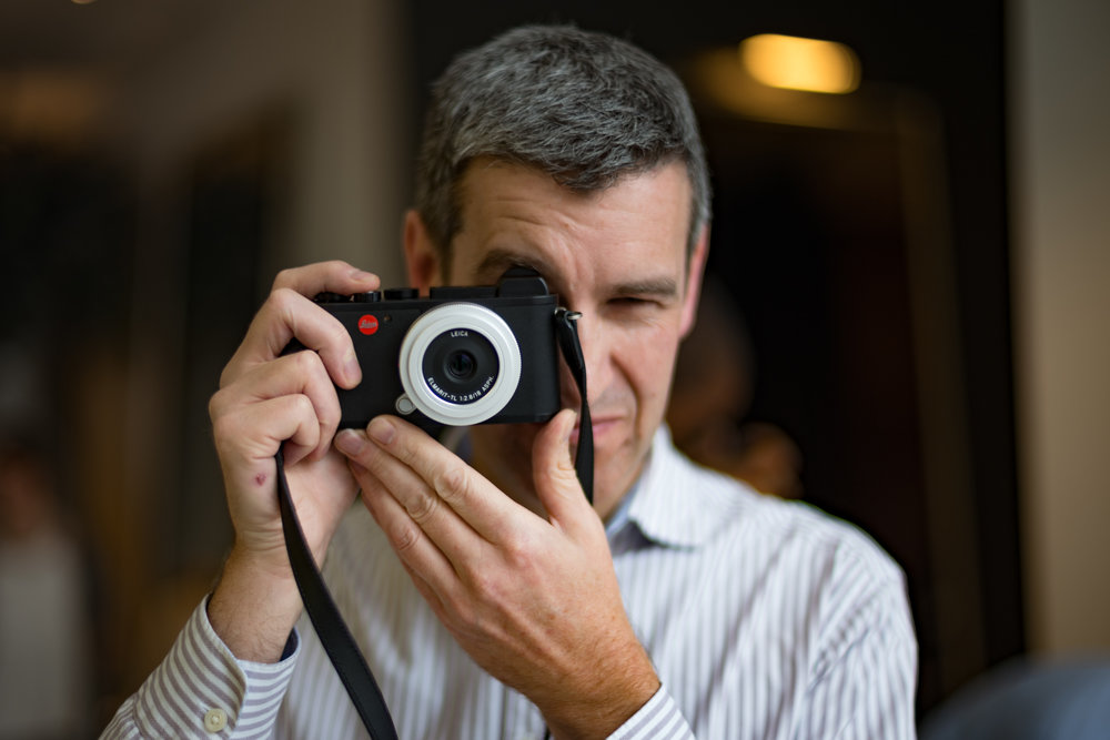 The 18mm pancake on the CL makes a perfect carry around street combo to rival the Fuji X100F in convenience and performance. Yet the CL, as a system, is much more versatile (image Mike Evans)