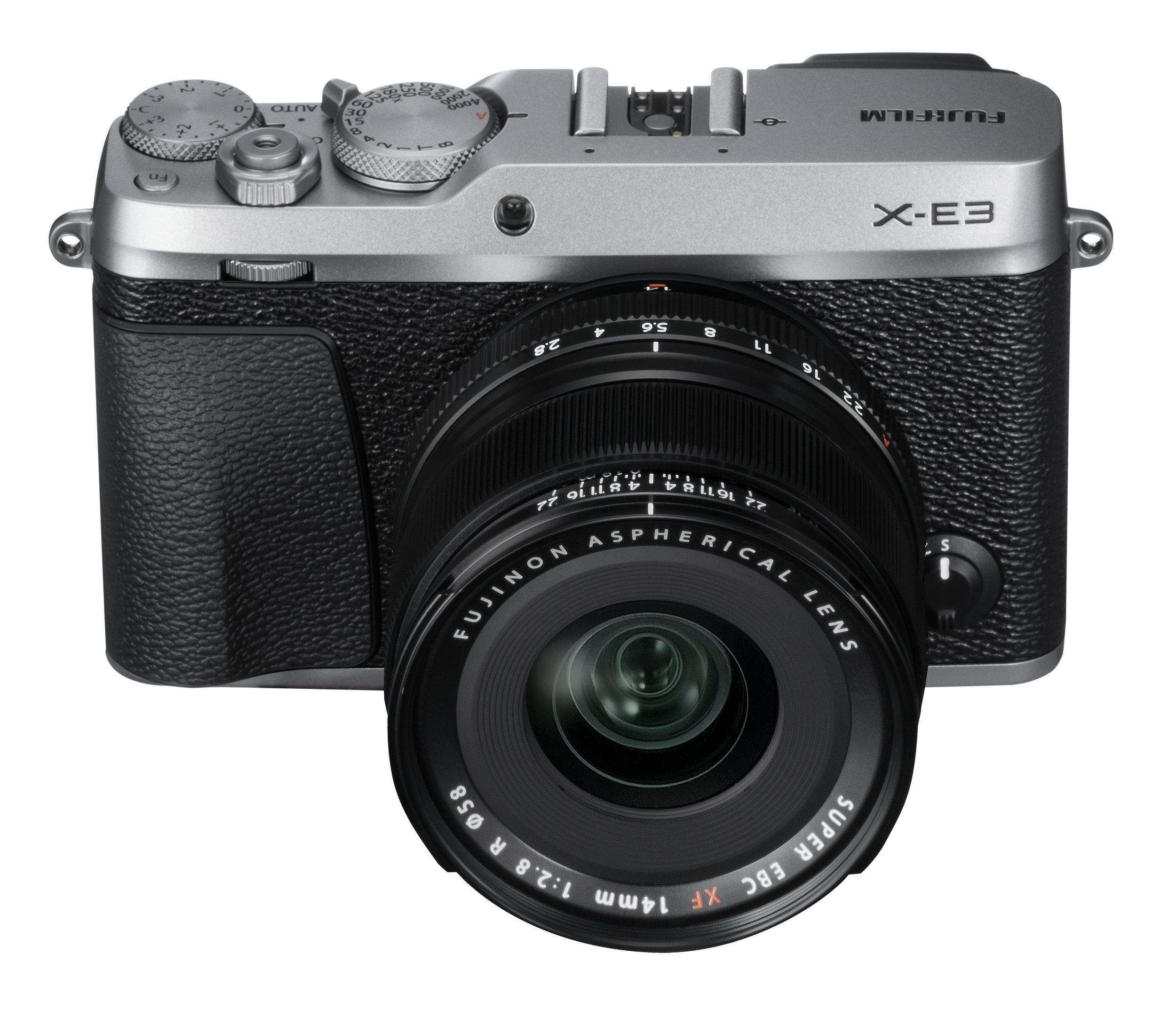The X-E3 comes in silver and black, as above, or in all black for the real stealthy ones. Here it is twinned with the excellent 14m f/2.8 14mm prime