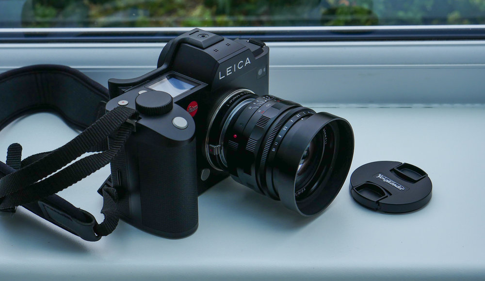 Keeping the SL company: The Nokton and the SL make a winning team