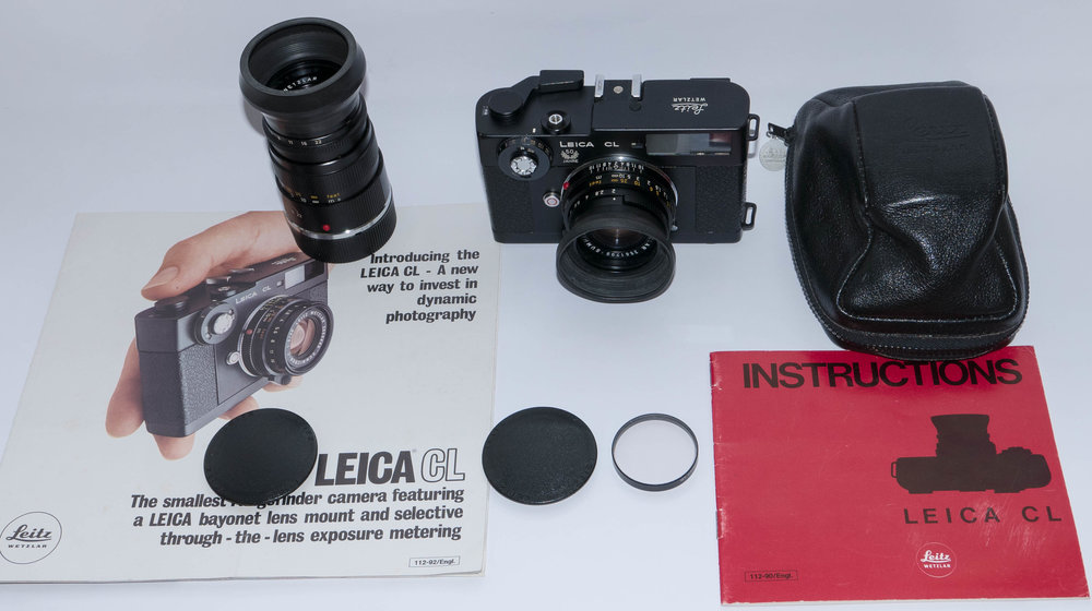 Leica CL 50th Anniversary model from William