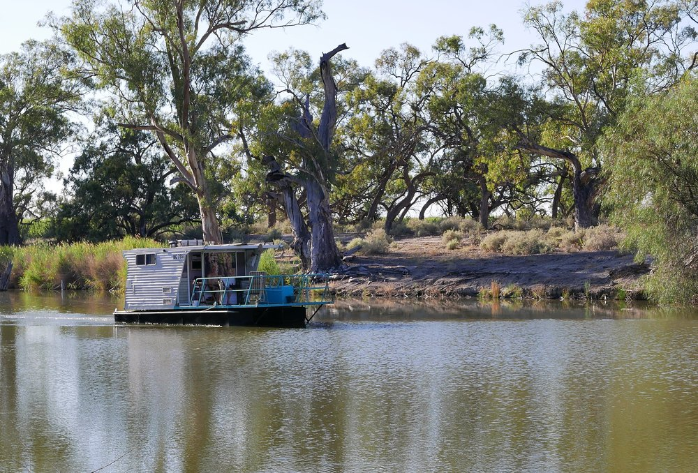 …..and there's a modest way travel the river