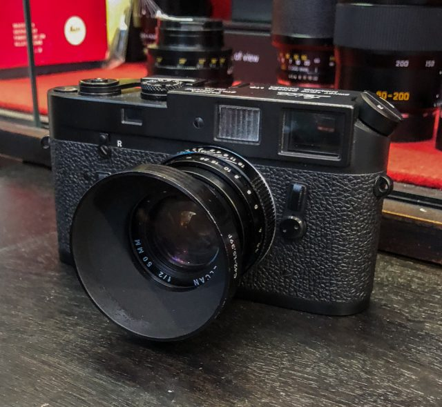Leica KE-7A: Special edition for the United States Army
