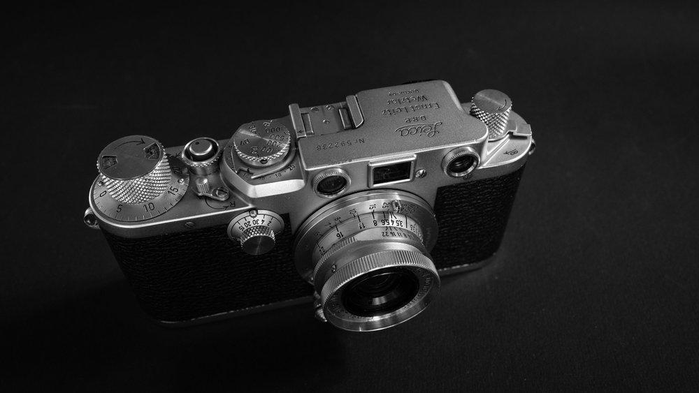 The Leica IIIf with the new 3.5cm Summaron