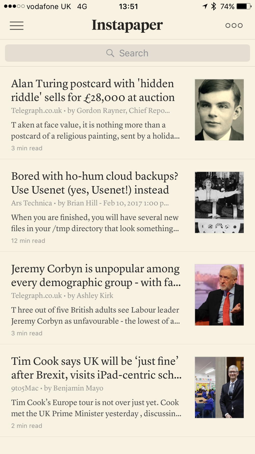 Up to this May Instapaper was a reliable and very useful tool for collating articles from all over the web. But then it disappeared and has not returned for over a month