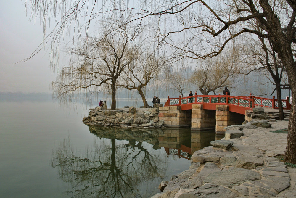 Beijing, Summer Palace, March 2012 — six months after the launch of the Nikon 1 system