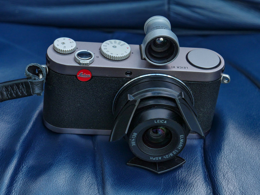 The Leica X1 and the subsequent X2 version (with live view and EVF port) are very desirable and relatively difficult to find on the used market. Owners tend to stick with them through thick and thin. This is Mike