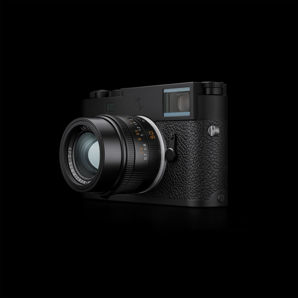 The pinnacle of digital M-dom, the new M10-P in all its stealthy glory