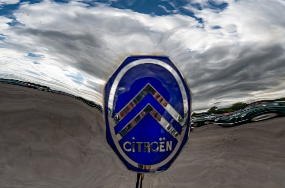 The world of Monsieur Citroën, perched on the photographer