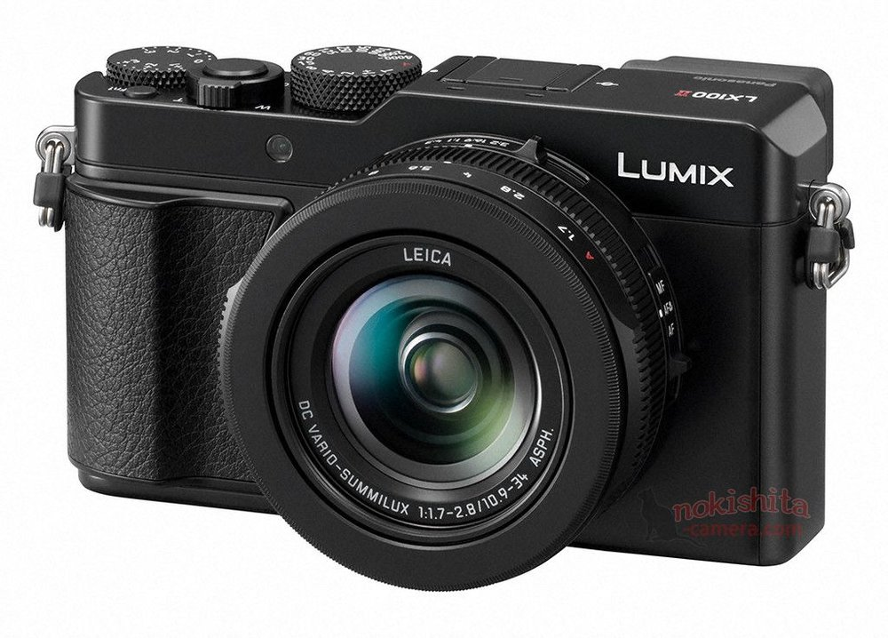 The new LX 100 MkII, image courtesy of Nokishita and Photorumors