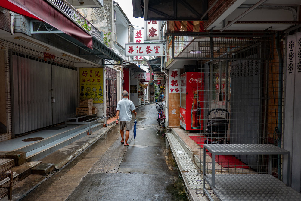 The streets of Tai O, both at 1/100s and f/2.8, 24mm