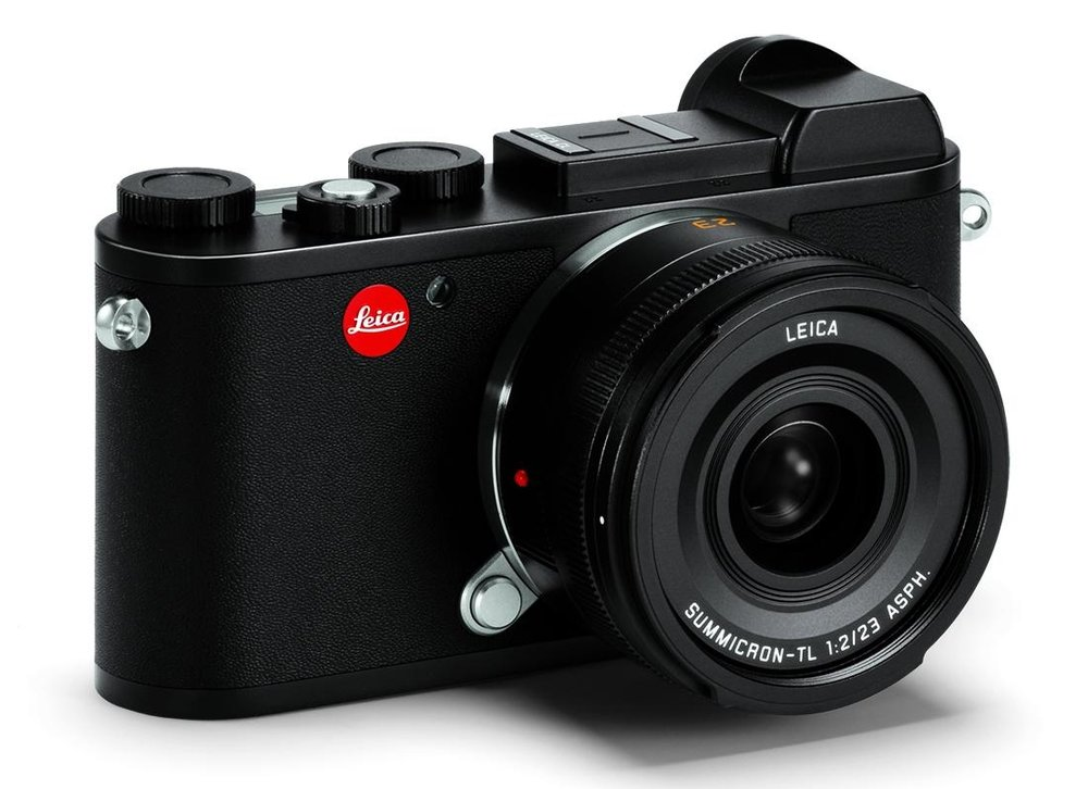 The elegant, tiny CL is the direct digital descendant of the first Barnack Leica  —  perhaps the nearest product in feel and appearance to the earliest Leicas.   The (T)L mount, introduced on the Leica T, is sufficiently large to cope with any lens design in the future.