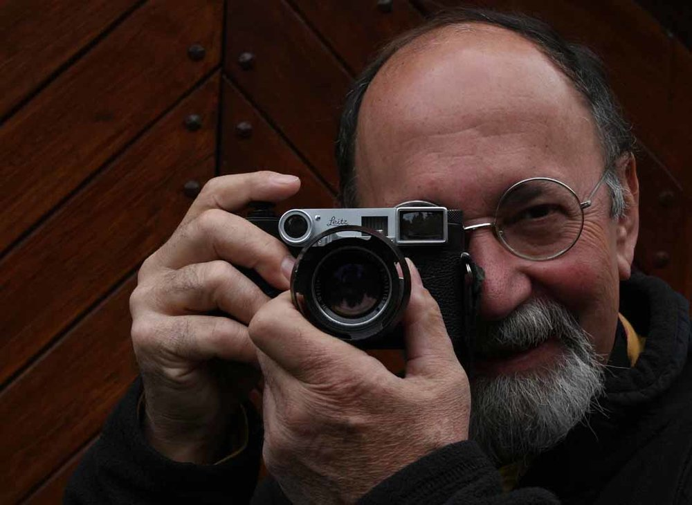 Raymond Pigneron, French Leica user and collector epitomises the ethos behind the Leica brand.  © jmse