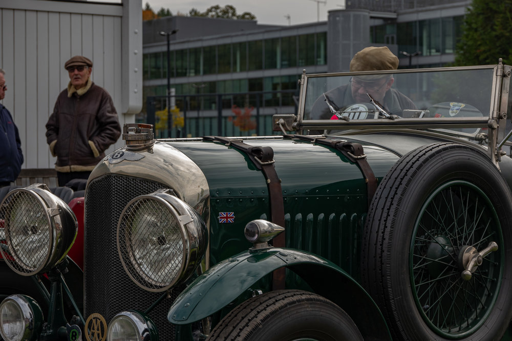At Brooklands on November 4, Bentley magnificence