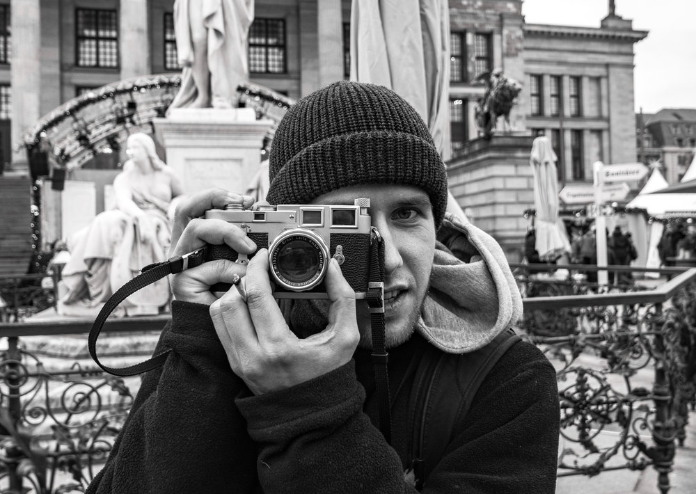"""Thomas from Austria with his """"new"""" Leica M3 and classic 1957 rigid Summicron"""