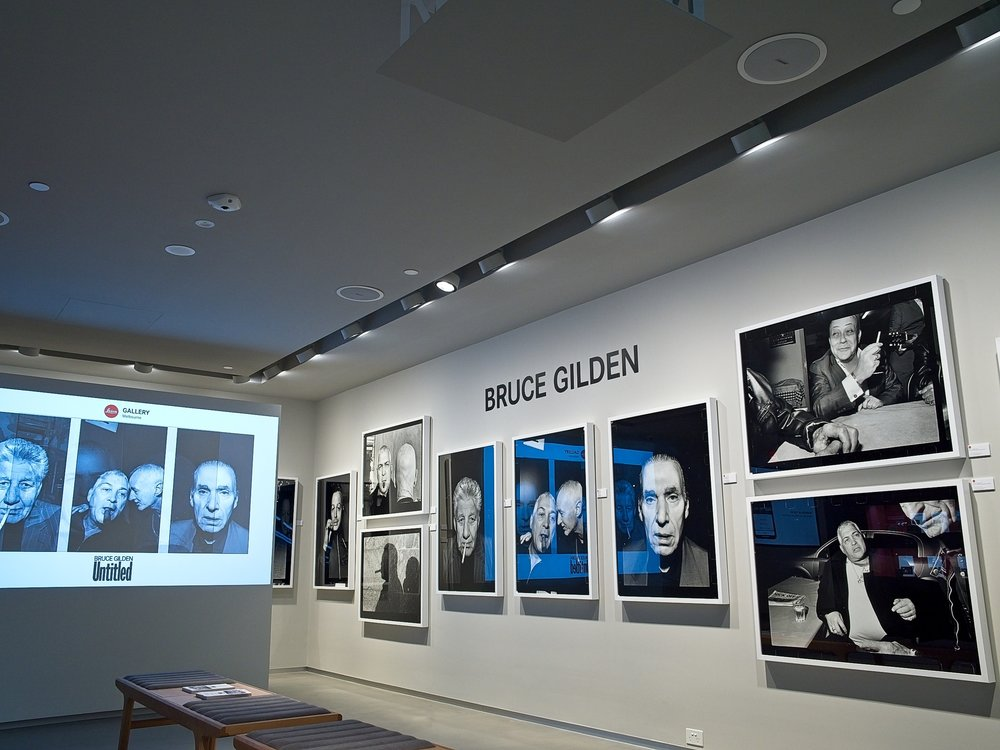 Bruce Gilden's prints are certainly impressive