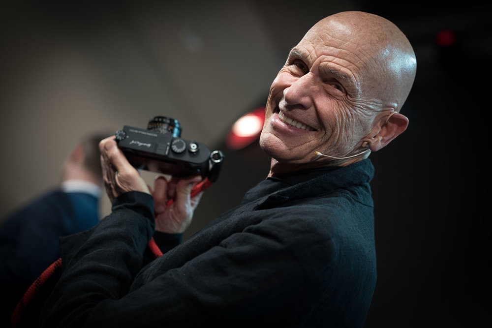 Joel Meyerowitz is inducted into the Leica Hall of Fame (M10 with 50mm APO Summicron M)