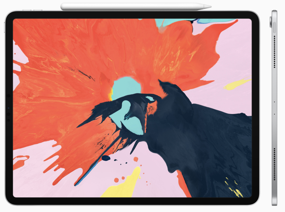 The new 12.9in iPad Pro with Apple Pencil (Image: Apple)