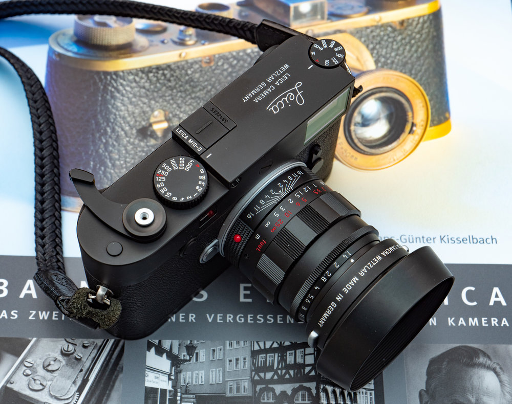 News, reviews, comment on Macfilos — here the new Leica M10-D with the limited-edition retro 50mm Summilux