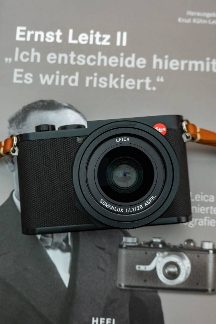 """I've decided, we'll risk it"", said Ernst Leitz II when backing Oskar Barnack and his team with the first Leica camera. Some risk, some decision. Some 95 years later, the Q2 is no risk, it is a sure-fire winner"