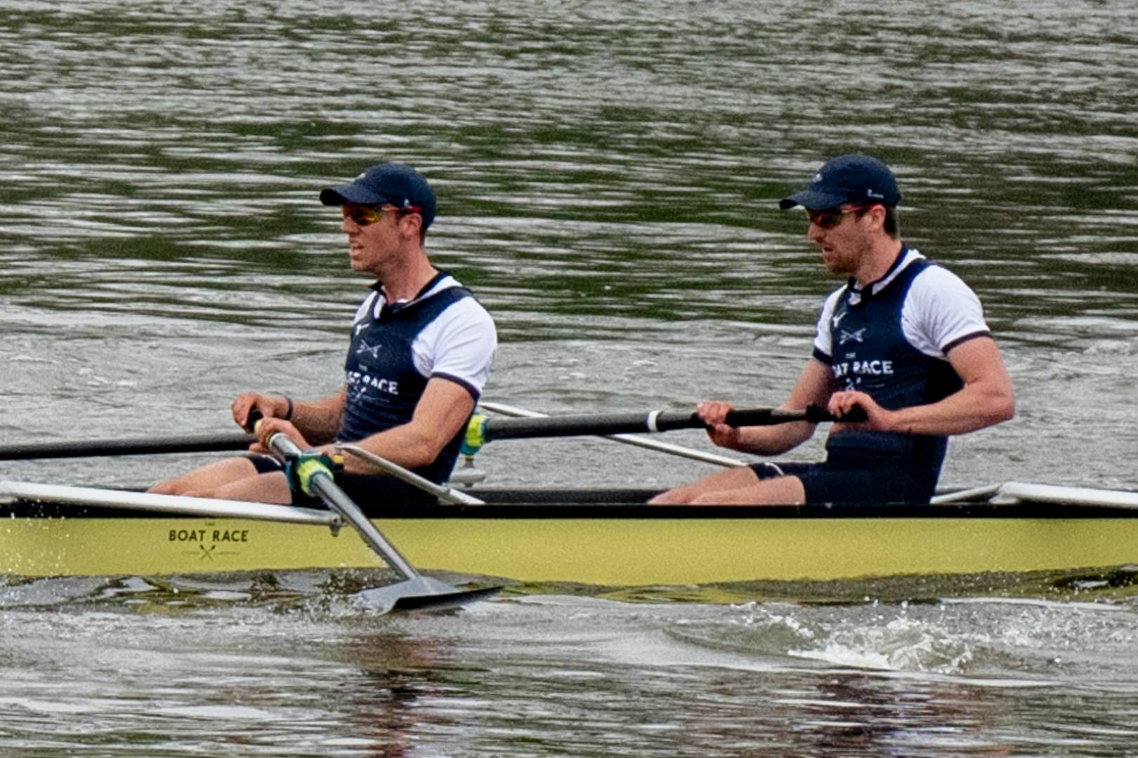 The faces of disappointment, two of the Oxford Crew mightily cropped from the Leica CL's 55-135mm lens at full chat of 200mm equivalent