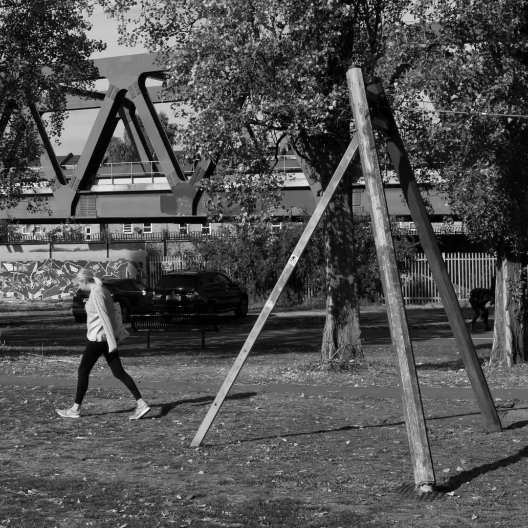 Allen Gardens triangles. Leica X1