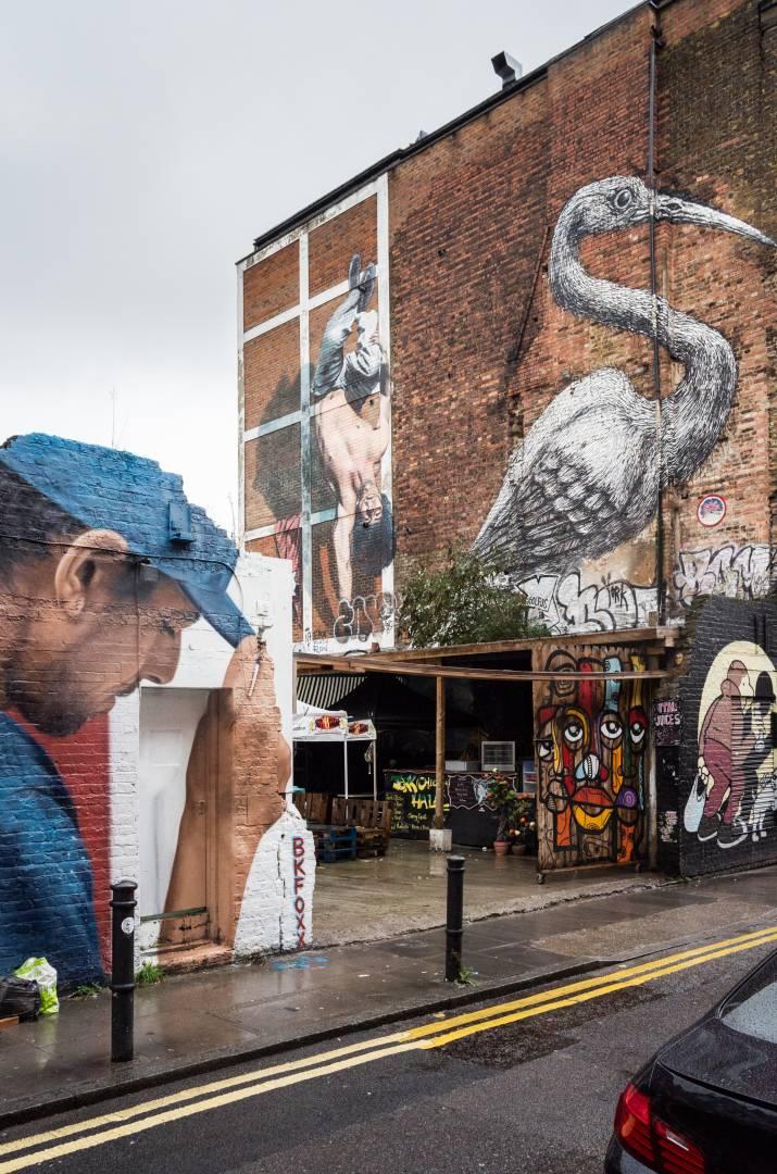Hanbury Street street art. Leica X Vario