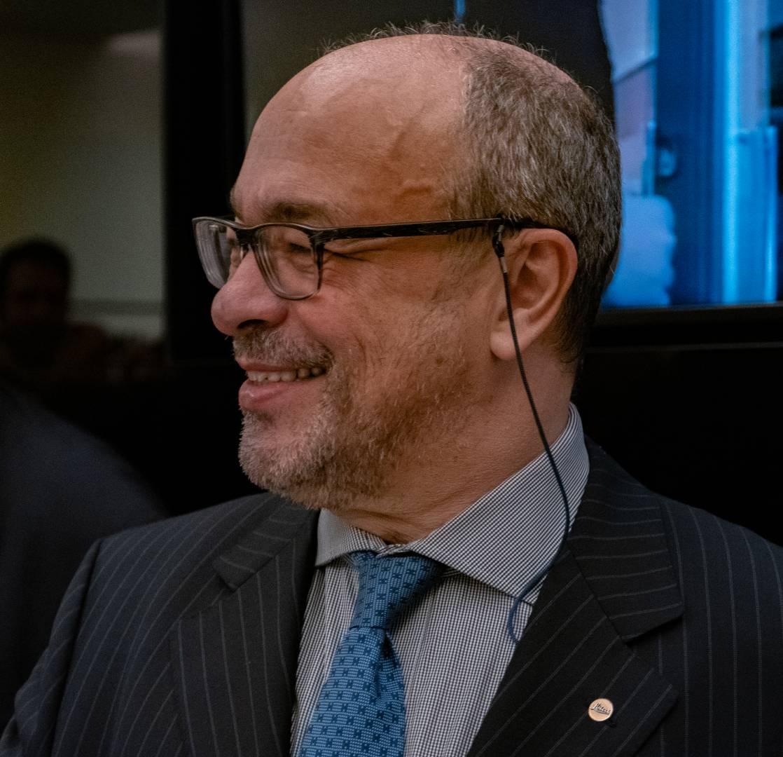 Dr Andreas Kaufmann, chairman of Leica